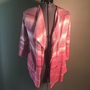 NWT Dress Barn Waterfall Cardigan Spring Warm